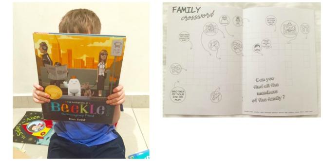 Kitabox activity booklet