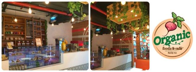 Orange Wheels Cafe Area