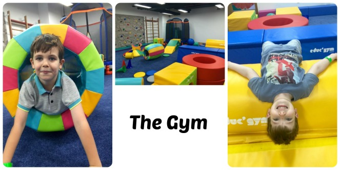 The Gym Area of Orange Wheels