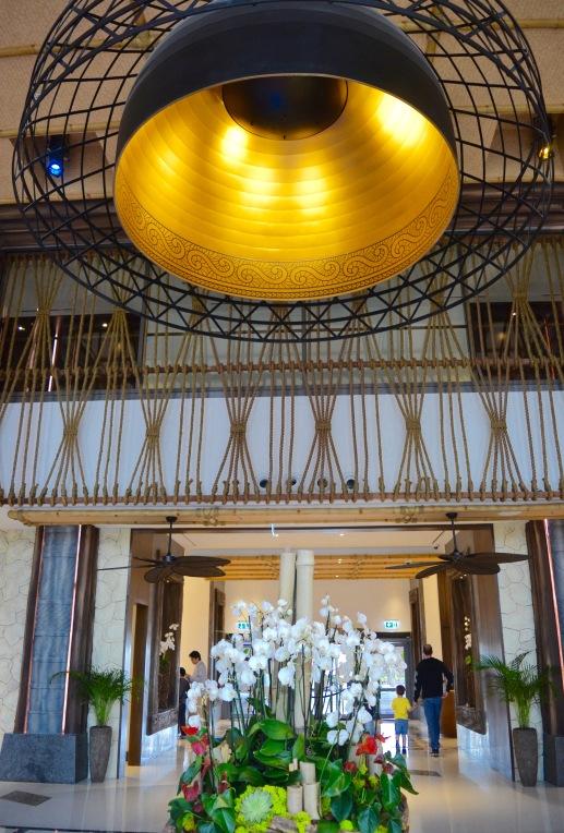 Lapita Hotel lobby area
