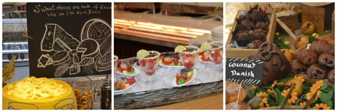 food buffet at Lapita brunch