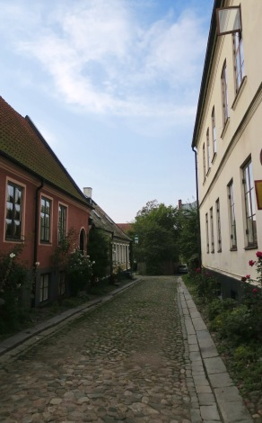 Cobble-stoned lanes of Lund