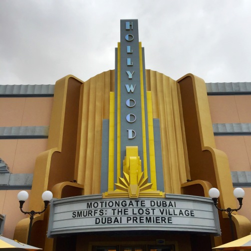 Hollywood Theatre entrance