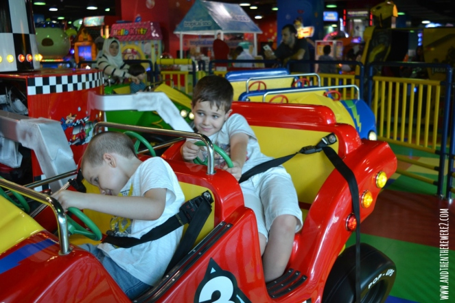 big Rides at Fun City