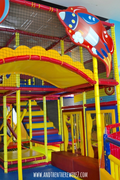 Soft Play area at Fun City Play Zone in Oasis Mall