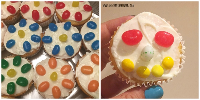 Home made Spring themed cupcakes