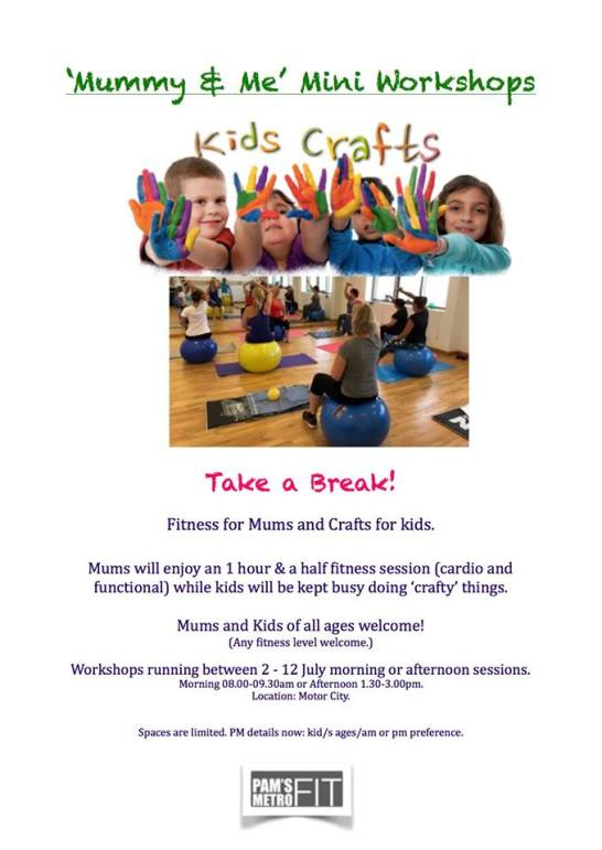 Mummy & Me Workshop at Pams Metro Fit