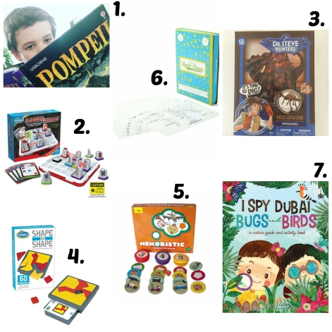Indoor games for 5 - 8 year olds