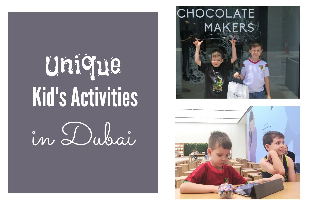 Unique Kids Activities in Dubai