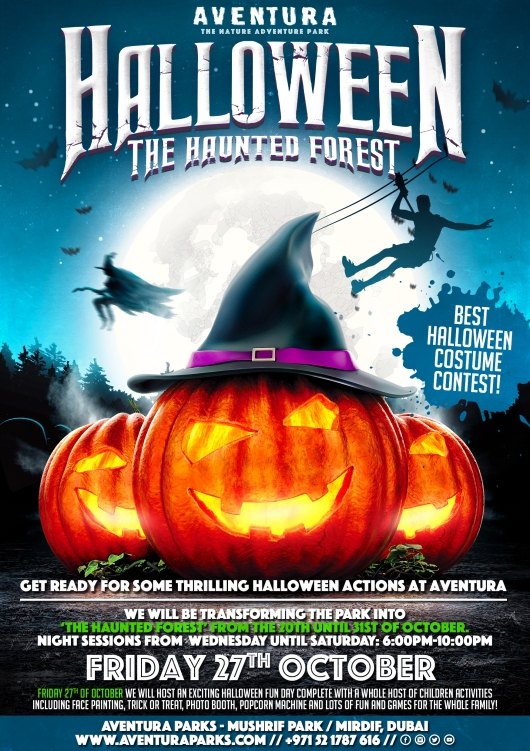 Aventura Halloween Haunted Forest